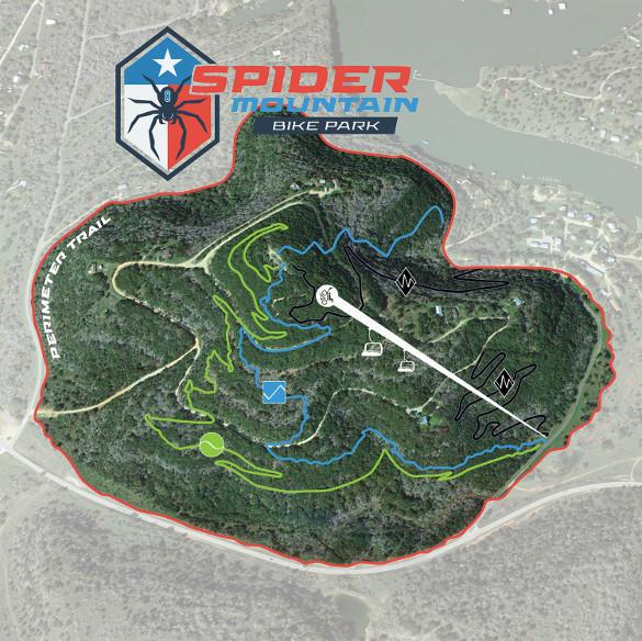 Spider Trail Map